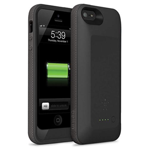 Belkin Grip Power Battery Case for iPhone 5 (Blacktop / Gravel)