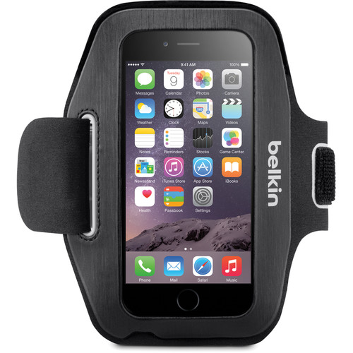 Belkin Sport-Fit Armband for iPhone 6/6s (Blacktop/Overcast)