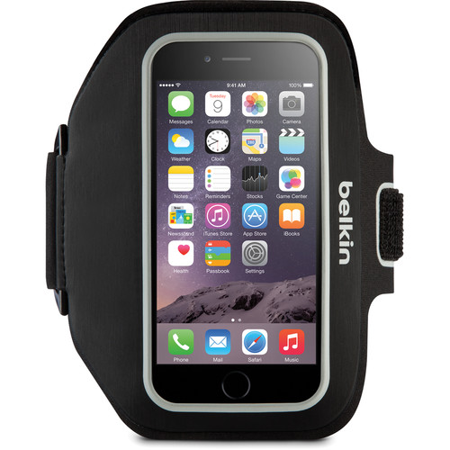 Belkin Sport-Fit Plus Armband for iPhone 6/6s (Blacktop/Overcast)