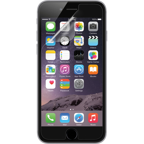 Belkin TrueClear Transparent Screen Protector for iPhone 6 Plus/6s Plus (3-Pack)