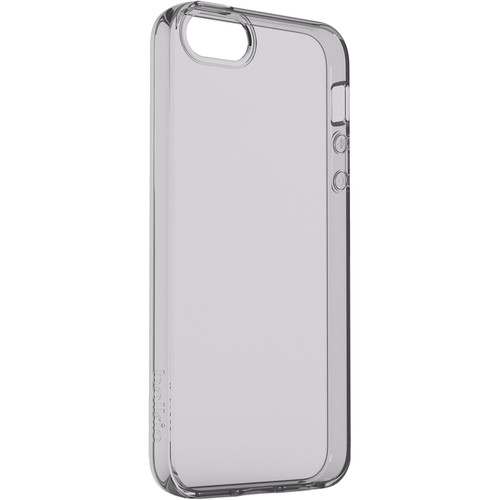 Belkin Air Protect Clear Case for iPhone SE (Space Gray)