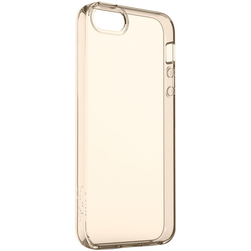 Belkin Air Protect Clear Case for iPhone SE (Gold)