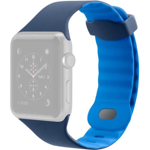 Belkin Sport Band for Apple Watch (38mm/40mm, Marina Blue)