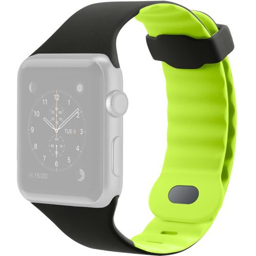 Belkin Sport Band for Apple Watch (38mm/40mm, Blacktop/Flash)