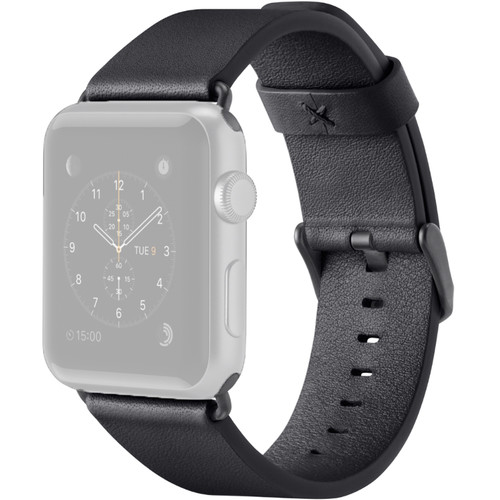 Belkin Classic Leather Band for Apple Watch (38mm, Black)