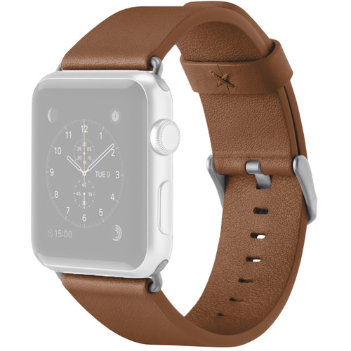 Belkin Classic Leather Band for Apple Watch (38mm, Tan)