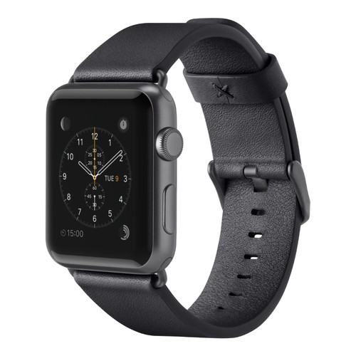 Belkin Classic Leather Band for Apple Watch (42mm, Black)