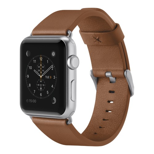 Belkin Classic Leather Band for Apple Watch (42mm, Tan)