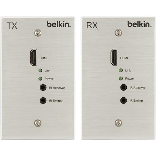 Belkin HDBaseT TX/RX AV Extender Wall Plate