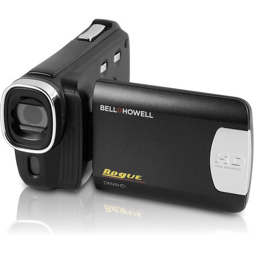 Bell & Howell Rogue DNV6HD 1080p HD Night Vision Camera with Touch Screen (Black)