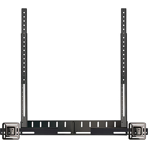 Bell'O Universal Soundbar Mounting System for TV Wall & Flat Panel Stand Mounts (Black)