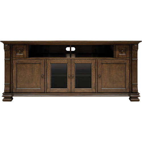 Bell'O PR36 Mocha Finish Wood Home Entertainment Cabinet