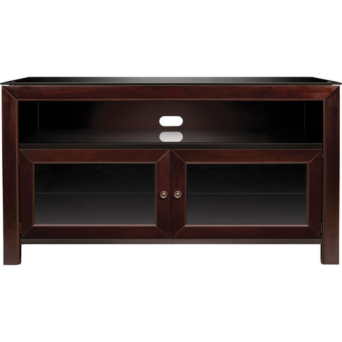 Bell'O WMFC503 No Tools Assembly A/V Cabinet (Deep Mahogany Finish)
