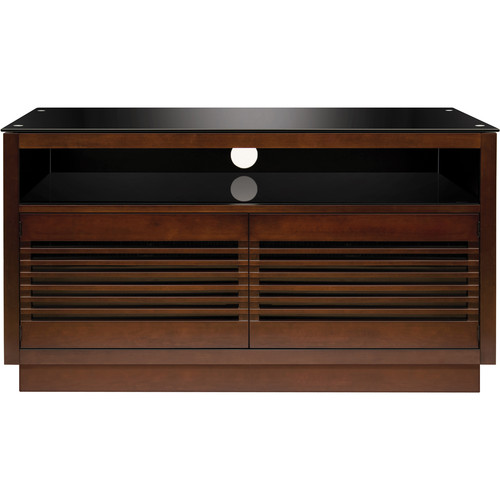 Bell'O No Tools Assembly Wood A/V Cabinet (Chocolate Finish)