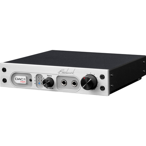 Benchmark Benchmark DAC1 HDR - Stereo Preamplifier With Remote (Silver, 220V)
