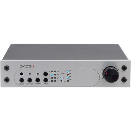 Benchmark DAC3-L Reference DAC and Stereo Preamp (Silver)