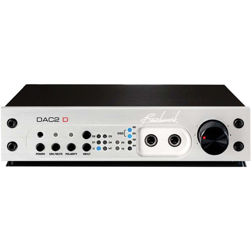 Benchmark DAC2 D Digital Reference DAC (Silver)