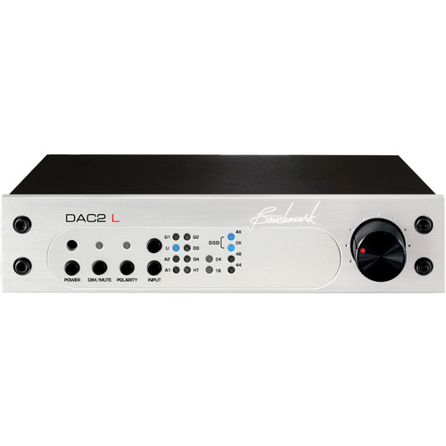 Benchmark DAC2 L Digital to Analog Audio Converter (Silver)