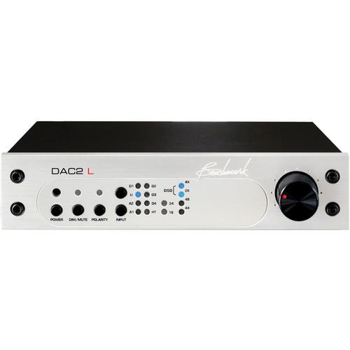 Benchmark DAC2 L Digital to Analog Audio Converter (Black)