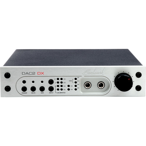 Benchmark DAC2 DX Digital to Analog Audio Converter with Remote Control (Silver)