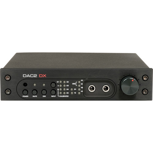 Benchmark DAC2 DX Digital to Analog Audio Converter (Black)