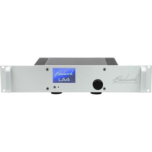 Benchmark LA4 Rackmount Line Amplifier with Remote Control (Silver)