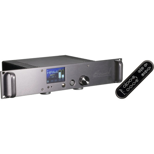 Benchmark HPA4 Rackmount Reference Headphone/Line Amplifier with Remote Control (Silver)