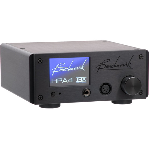 Benchmark HPA4 Reference Headphone/Line Amplifier with Remote Control (Black)