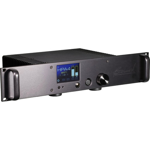 Benchmark HPA4 Rackmount Reference Headphone/Line Amplifier (Black)