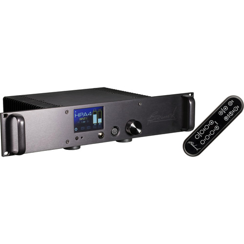 Benchmark HPA4 Rackmount Reference Headphone/Line Amplifier with Remote Control (Black)