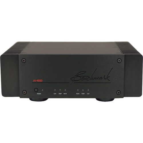 Benchmark AHB2 High-Resolution Power Amplifier (Black)