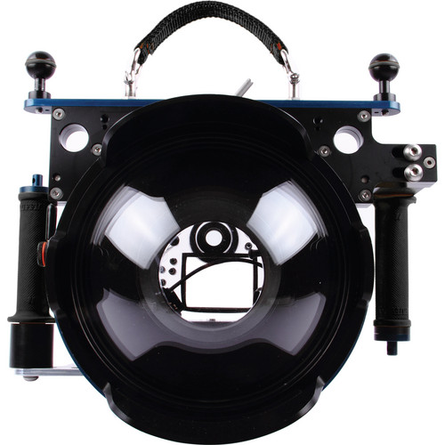 Beneath the Surface Large Pivot Tray with Black Grip Handles for Ikelite Underwater DSLR Camera Housings