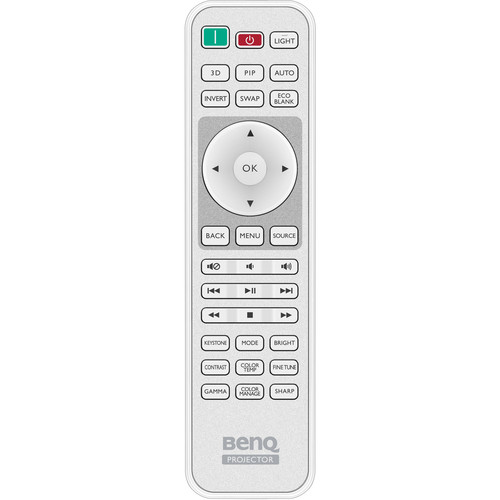 BenQ Remote for HT1075/HT1085ST Projectors