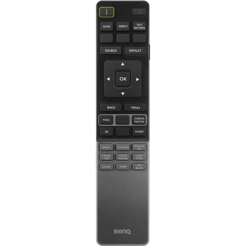 BenQ IR Remote Control for HT8060, HT9060, W11000H, and X12000H Projectors
