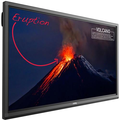 "BenQ RP840G 4K UHD 84"" Education Interactive Flat Panel Display"