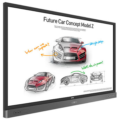 "BenQ RP750K 75"" Education Interactive Flat Panel Display"