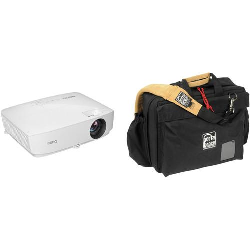 BenQ MH530FHD 3300-Lumen Full HD DLP Projector and Case Kit