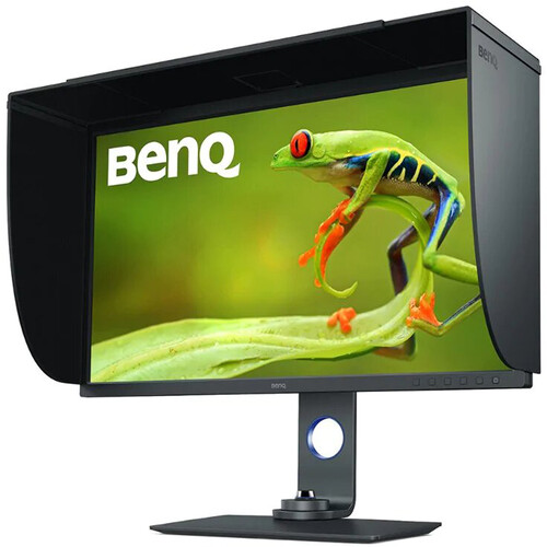 "BenQ SW321C 32"" 16:9 4K HDR IPS Photo and Video Editing Monitor"