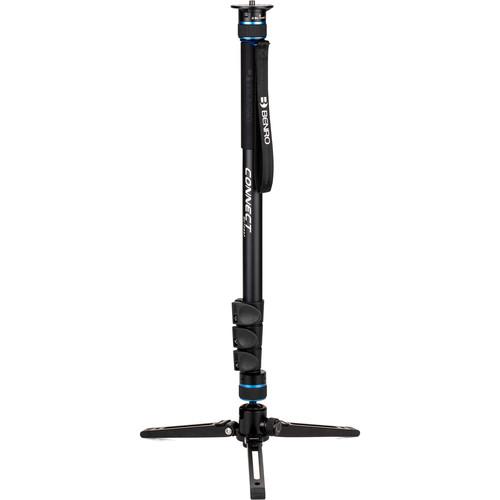 Benro #2 MCT28AF Monopod with Flip Locksand 3-Leg Base