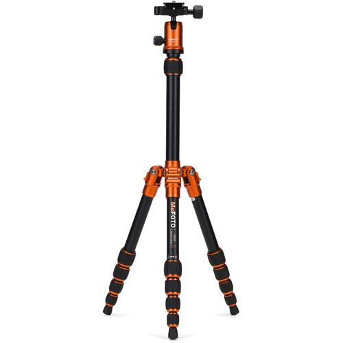 MeFOTO BackPacker Travel Tripod (Orange)
