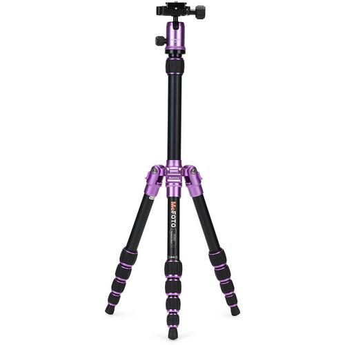 MeFOTO BackPacker Travel Tripod (Purple)