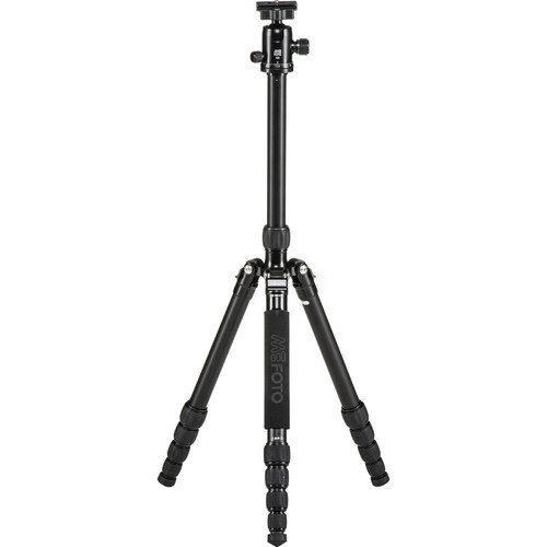 MeFOTO GlobeTrotter Aluminum Travel Tripod Kit (Black)