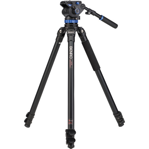 Benro S7 Video Tripod Kit with A373F Aluminum Legs