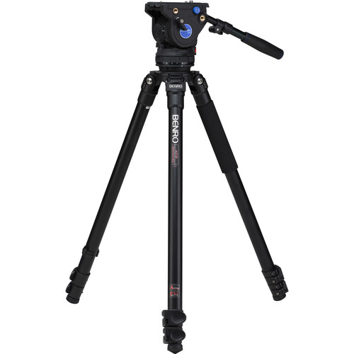 Benro A373F Series 3 Aluminum Video Tripod & BV6 Head