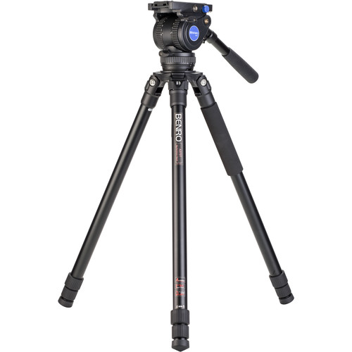 Benro Aluminum Tripod Kit with BV8H Head (75mm)