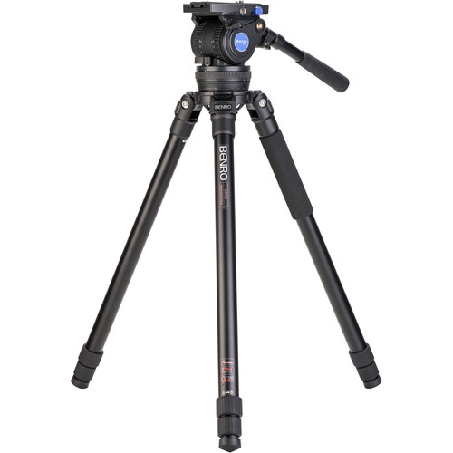 Benro Aluminum Tripod Kit with BV10H Head (100mm)