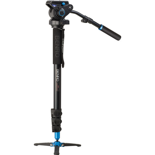 Benro A48FBS6 Video Monopod Kit with Head