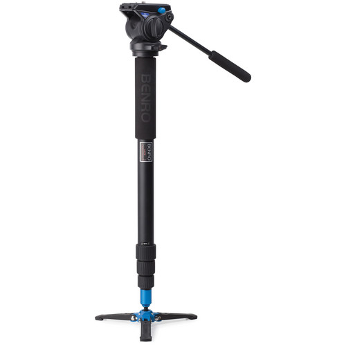 Benro A48T Classic Aluminum Monopod with S4 Head