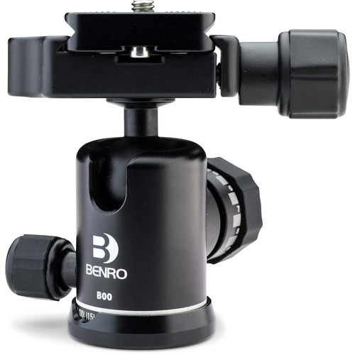 Benro B00 Triple Action Ball Head with PU50 Quick Release Plate