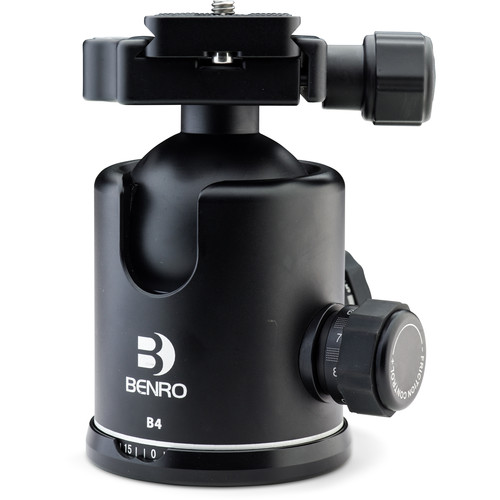 Benro B4 Triple Action Ball Head with PU70 Quick-Release Plate